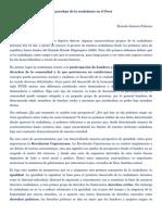 La Paradoja de La Ciudadania en El Peru
