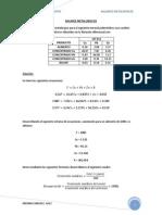 Balances Metalurgicos