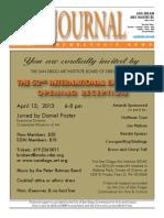 San Diego Art Institute Journal Mar/Apr 2013