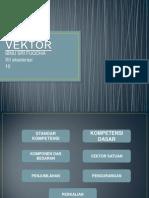 persentasi vektor