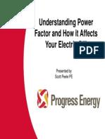 Power Factor How Effects Bill