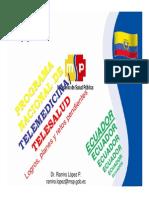 Programa Nacional de Telemedicina y Telesalud-Logros Planes Retos Pendientes (Ecuador)