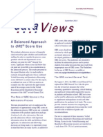 Dataviews Balanced Approach to Score Use