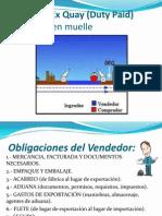 Incoterms DEQ Y DDU