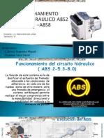 Curso Funcionamiento Sistema Hidraulico Abs2 Abs5 Abs8