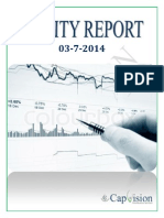 Daily Report 3-07-2014