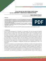 Pizarro (QUESTION2014) - El Uso Del Celular en Los Sectores Populares