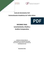 Automatización Estadísticas de Tráfico Aéreo