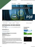 METODOLOGIA de BOX-JENKINS de Guadalupe Lizzette Soriano Elias en Prezi