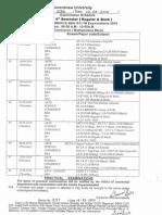 Revised UG 4th Sem, 2014