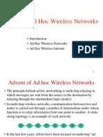 Adhoc Wireless