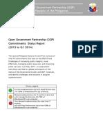 Q1 OGP Commitments