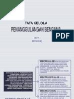 Presentasi Status Bencna