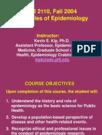 principles of epi