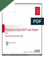 L01 - Introduction to Studio 5000 Logix Designer