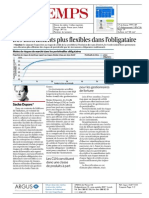 Le Temps - 30 Juin 2014 - Des Instruments Plus Flexibles Dans l'Obligataire