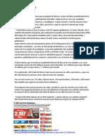 Publicidad Por Millar Intervención EPN