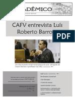 """Jornal """"O Acadêmico"""" - http://www.cafv-ufpel.com"""