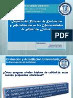 presentacindeevaluacinyacreditacindelasuniversidades-111018231403-phpapp01