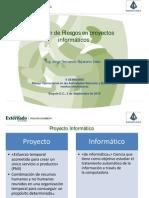 Gestion de Riesgos de Proyectos Informaticos JorgeFernandoBejarano