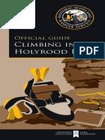 Holyrood Park Climbing Guide
