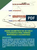 DISEÑO GEOMÉTRICO DE UN VUELO FOTOGRÁFICO PARA TERRENO MONTAÑOSO.pptx