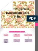 Trastornos en La Evacuación de La Orina