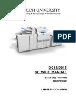 Ricoh Aficio MP6000 Service Manual