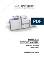 Ricoh Aficio MP6000 Service Manual
