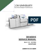 ricoh aficio mp 4002 service manual