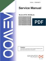 Daewoo VTB834NET3(168) Service Manual
