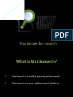 An Elasticsearch Crash Course Presentation pdf | Search Engine