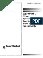 AWS QC7-93 Supplement C