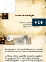 Curs 1 Istoria Dermatologiei