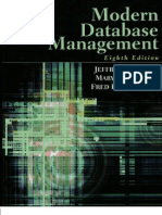 Modern Database Management - 8th Edition