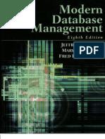 Modern Database Management - 8th Edition