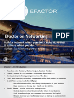 EFactor on Networking
