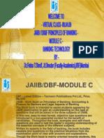 DBF JAIIB Principles of Banking Bank Tech Module C