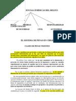 11.-Sistema de Penas en Chile y Las Consecuencias Juridicas Del Delito (1)