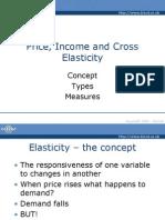 Price, Income & Cross Elasticity Ch3