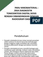 Penyakit Paru Mikobakterial Dts Dengan Radiografi Dada