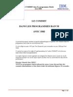 Le COMMIT en Programmes Batch Avec DB2