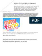el iPhone y el iPod Aplicaciones para Niños Autistas