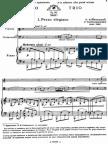 Tchaikovsky - Trio Pour Piano, Violon Et Violoncelle