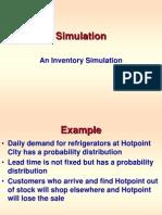 SIMULATION Inventory Simulation