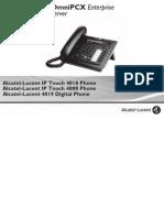 Manual Terminal A4018