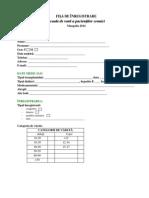 Formular Inregistrare - A - T