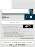 Early Detection alzheimer's disease