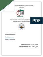 TSML Report - Shaz