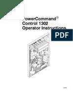 PCC1302 Operator Instructions